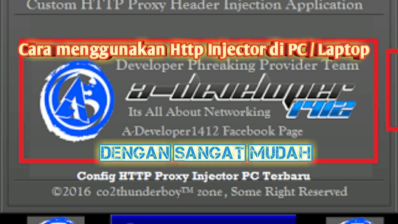 Cara Menggunakan Http Injector Pc