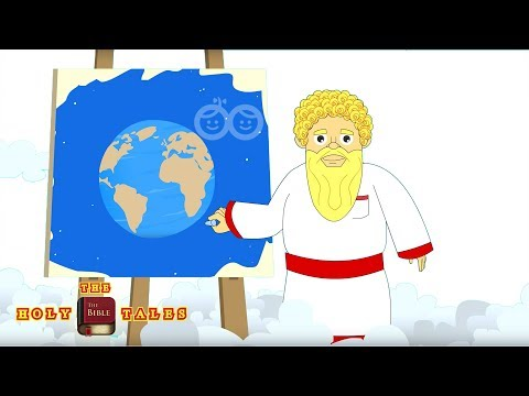 The Story of Creation I Book of Genesis I Animated Children's Bible Stories