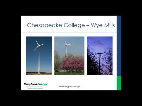 Maryland Energy Administration Community Wind Webinar