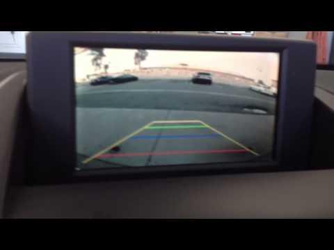 2006 BMW X3 back up camera integration