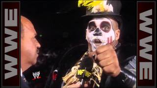 Papa Shango puts a voodoo curse on Mean Gene Okerlund: Superstars, June 6, 1992