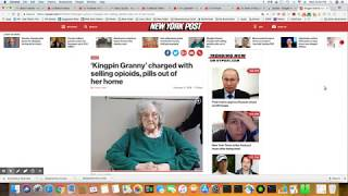 Wheelchair Bound Kingpin Granny Busted For Selling Opioids From Her Home