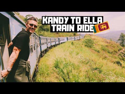KANDY to ELLA! The BEST Train Ride in the WORLD?! | Sri Lanka