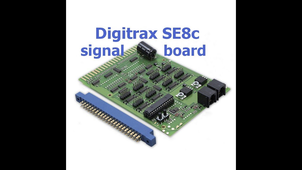 digitrax se8c signal board and tortoise switch machines youtube rh youtube com