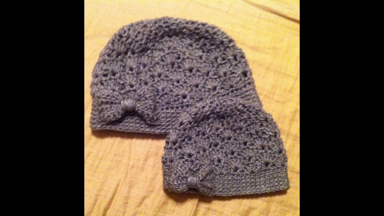 TUTORIAL #57 (SHELLEY SHELL BEANIE) (onevirtuouswoman)