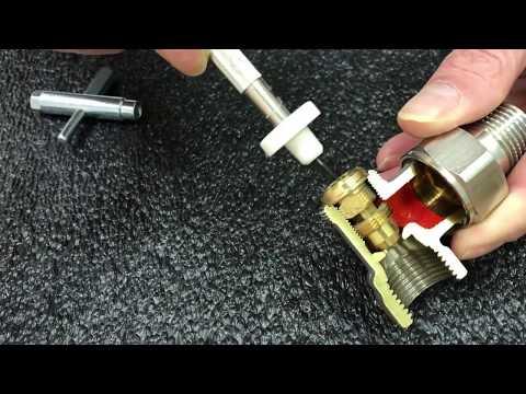 Come funziona il detentore per radiatori preregolabile Herz RL-5