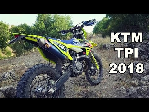 KTM TPI 2018 - Fuel Injected 2 Stroke is HERE !