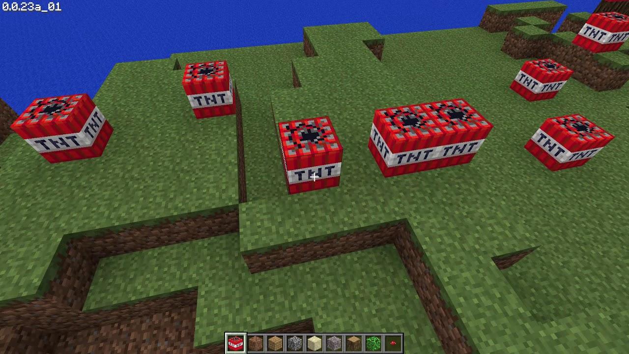 TNT in Minecraft Classic js0 23 (classic minecraft net) YouTube