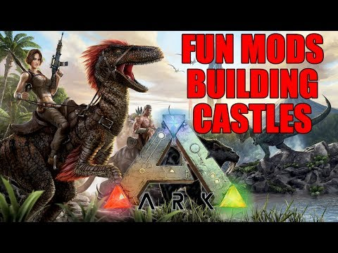 Ark: Survival Evolved | Building Castles Continued | Learning - Still n00b