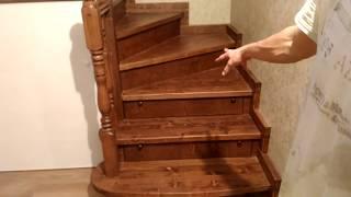 как сделать лестницу на мансарду