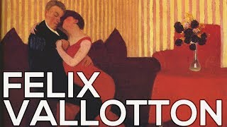 Felix Vallotton: A collection of 187 paintings (HD)