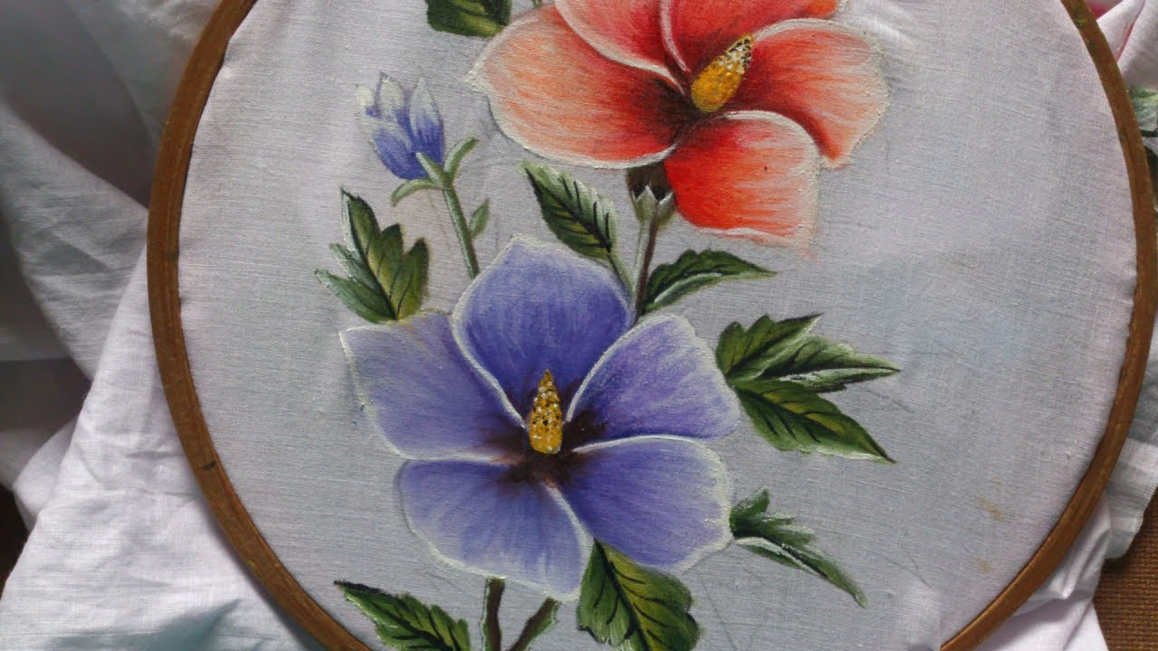 Painting  Fabric Painting Tutorial For Beginners  Fabric