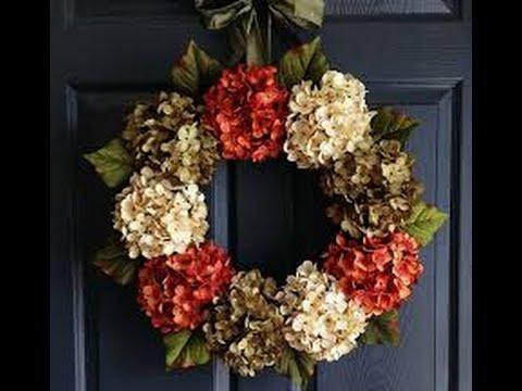 Diy Wreath Outdoor Fall Decor You