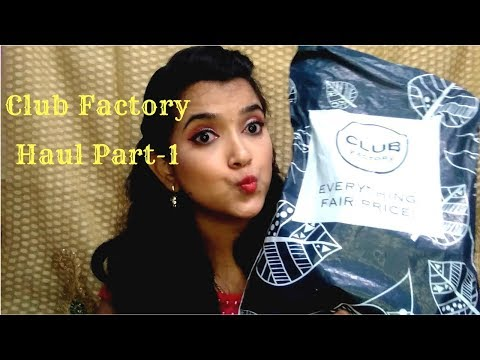 Club Factory Haul Part-1| Cheap Rates | Online Shopping in India