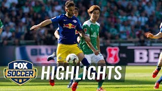Werder Bremen vs. RB Leipzig | 2019 Bundesliga Highlights