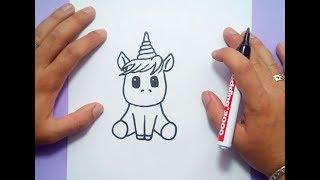 Como dibujar un unicornio paso a paso 4 | How to draw a unicorn 4
