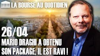 Bourse Au Quotidien - Mario Draghi A Obtenu Son Package, Il Est Ravi !