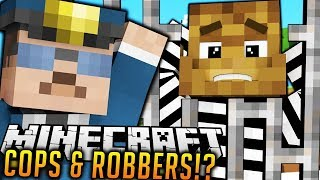 *NUCLEAR DEATH RAY* COPS AND ROBBERS TECH GUNS MOD - Minecraft (MONSTER PRISON)