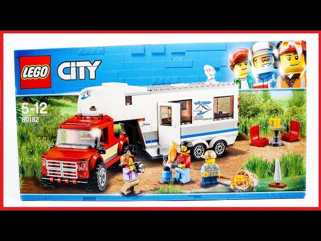 LEGO 60182 City Great Vehicles Pickup & Caravan Speed Build