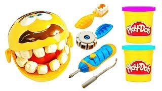 Learn Colors Play Doh and Dr Drill n Fill | Marble Maze Toy | Little Kid Learn Colors with Balloon thumbnail