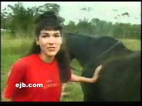 Doc Reno - Horse poops on woman's head