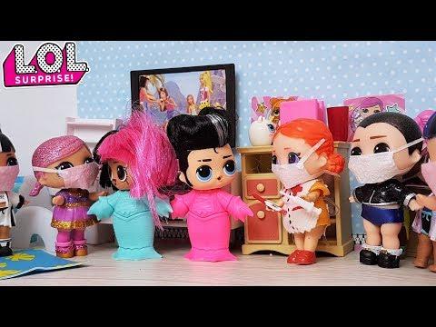 #КУКЛЫ #ЛОЛ СЮРПРИЗ ЗАБОЛЕЛИ 2 часть #оставайтесьдома #Мультик с куклами ЛОЛ Барби для детей