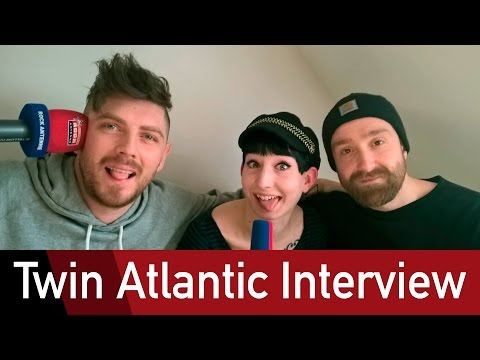 Twin Atlantics trouble with an Ambulance - Interview @ROCK ANTENNE