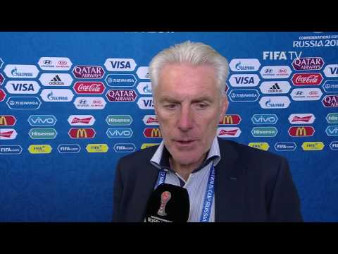Hugo Broos Post-Match Interview - Match 3: Cameroon v. Chile - FIFA Confederations Cup 2017
