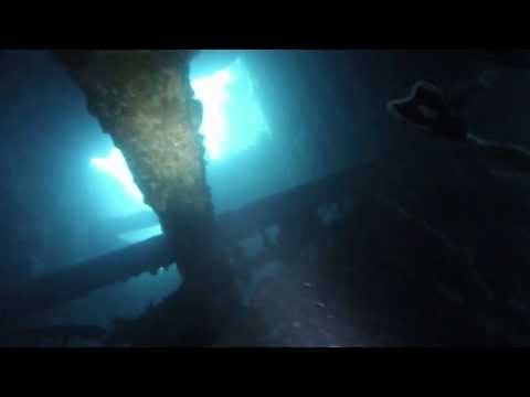 Wreck Diving (SS President Coolidge) 2013