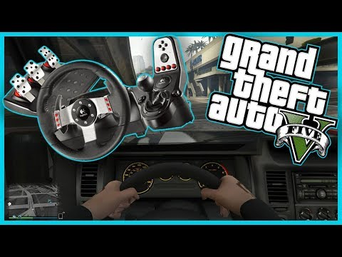 Подключаем руль БЕЗ МЕРТВОЙ ЗОНЫ в GTA 5