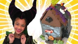 Maleficent in Real Life Disney Princess Movie w/ chocolate Candy Surprise
