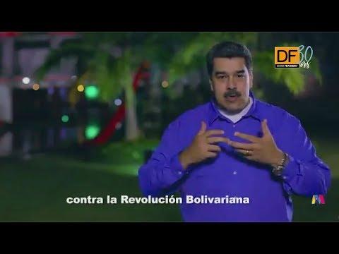 Ahora en DF: Maduro envía mensaje a chilenos