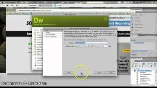 Creating a Dreamweaver Site