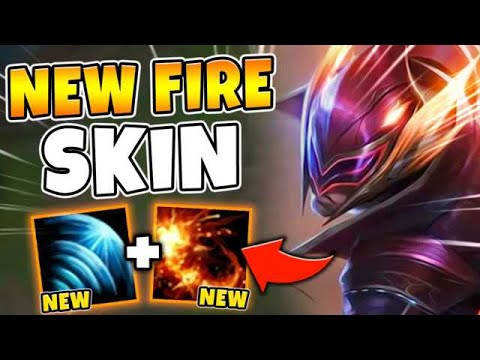 *NEW* SPECIAL FPX LEE SIN SKIN! YOUR Q IS A LEGIT FIREBALL (SO COOL) - League of Legends