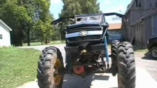 Carey Macdonald's 4x4 Mega Truck The Black Widow {SpiderBogger on YOU TUBE}