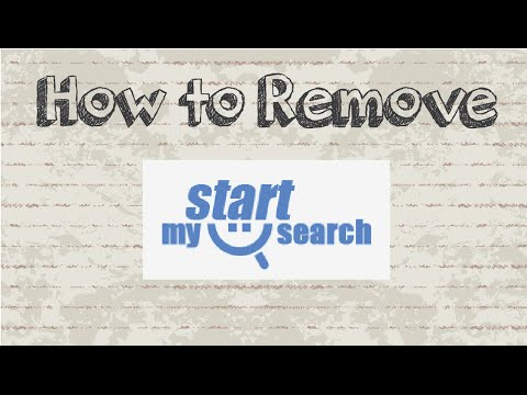 How to remove mystartsearch permanently