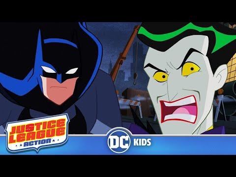 Justice League Action em Português  Batman vs Coringa  DC Kids