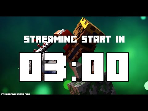 Ranked Skywars / Minecraft Stream Starting Soon Timer
