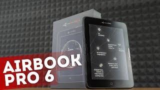 Обзор электронной книги AirBook Pro 6 (книга с подсветкой!)