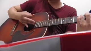 ソウル・フラワー・ユニオンの「荒れ地にて」をアコースティックギター1...