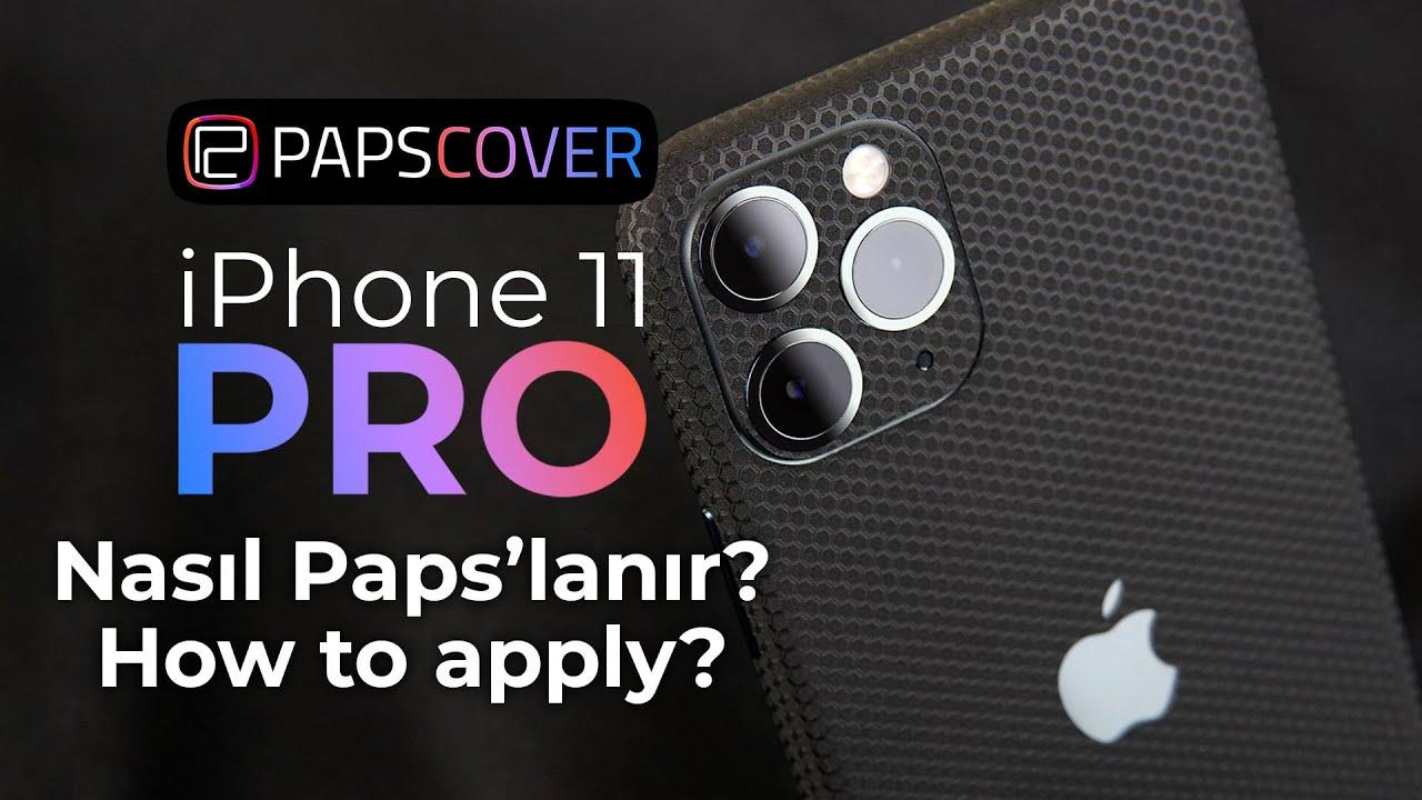 iPhone 11 Pro Nasıl Papslanır? (iPhone 11 Pro Kaplama)
