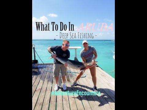 WHAT TO DO IN ARUBA | Deep Sea Fishing | Vacation To Aruba