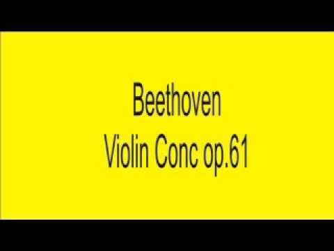 039 Beethoven Violin Concert op61