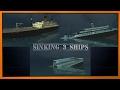 Sinking 3 ships [Valiant, Honourable, Royal Pilgrim]