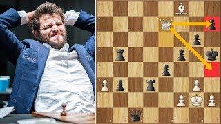One Of Magnus Carlsen's Worst Blunders