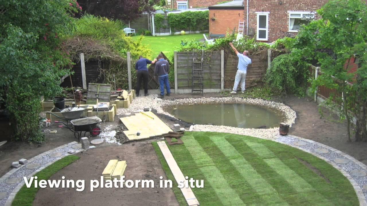 Creating a wildlife garden pond youtube - Build pond wildlife haven ...