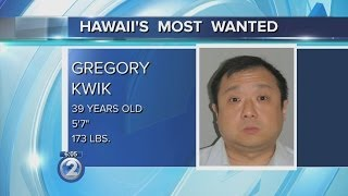 Hawaii's Most Wanted: Gregory Kwik