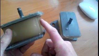 Реставрация подушки двигателя полиуретаном Паджеро | Митсубиси Pajero  MITSUBISHI