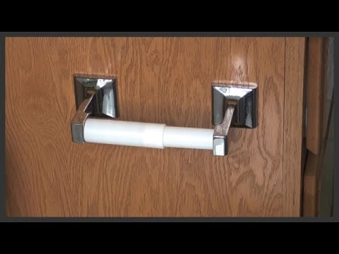 Toilet Paper Holder Replacement YouTube Inspiration Paper Dispensers Bathroom Style