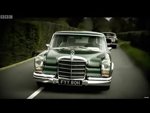 Classic Car Challenge: Grosser Mercedes Vs Rolls-Royce Corniche | Top Gear